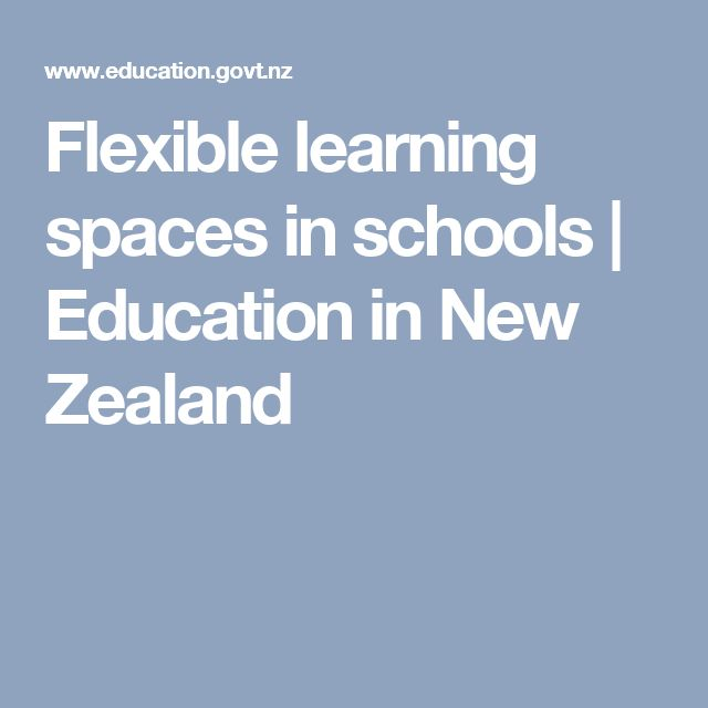 Flexible learning spaces in schools | Education in New Zealand