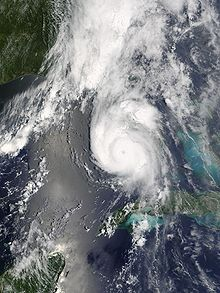 Hurricane Charley was the third named storm, the second hurricane, and the second major hurricane of the 2004 Atlantic hurricane season. Charley lasted from August 9 to August 15, and at its peak intensity it attained 150 mph (240 km/h) winds, making it a strong Category 4 hurricane.The storm made landfall in southwestern Florida at maximum strength, thus making it the strongest hurricane to hit the United States since Hurricane Andrew struck Florida twelve years before, in 1992.