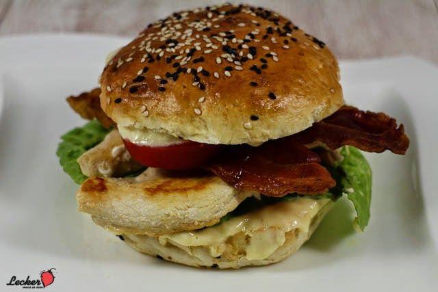 Lecker muss es sein!: #Rezept Caesars #Burger