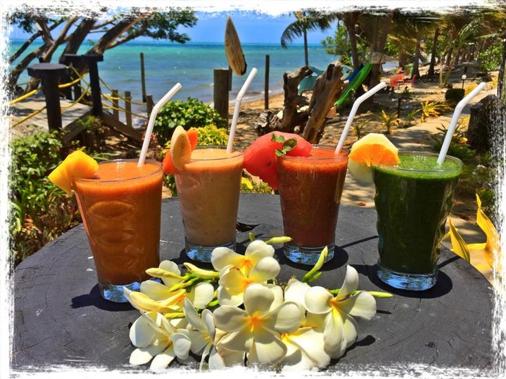 Vibrant Health and Fresh juices served at the Funky Bar