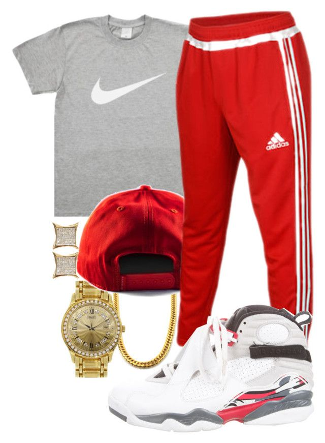 """""""Lil Uzi Vert- Top"""" by crenshaw-m4fia ❤ liked on Polyvore featuring Piaget, adidas, NIKE, men's fashion and menswear"""