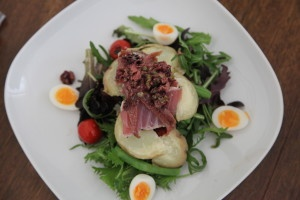 Deconstructed Nicoise salad