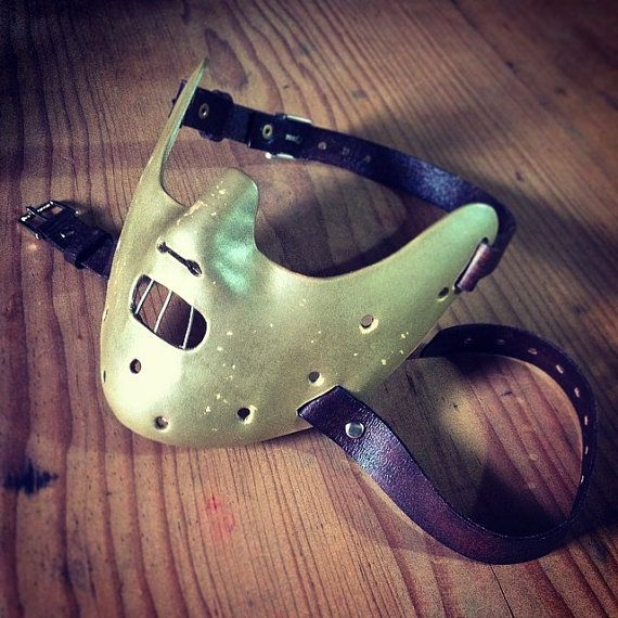 Hannibal Lecter Leather Mask The Silence of the Lambs by LMEmasks