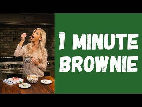 One-Minute Brownie || Chocolate to Slim Your Waistline!