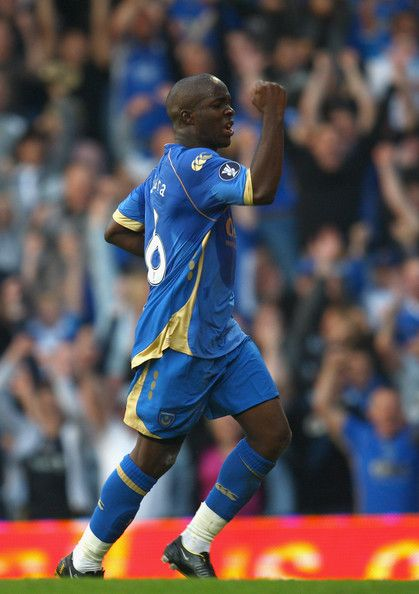 Lassana Diarra - aside from Prosinecki probably the most gifted player I have seen at Portsmouth 2008-2009