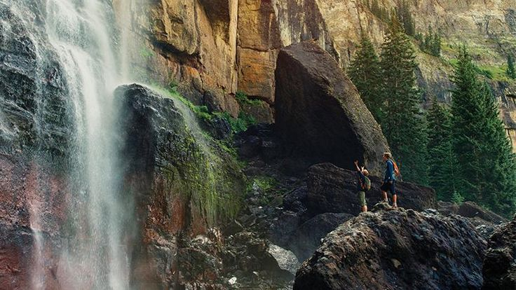 """Best Waterfall Hikes in Colorado!  According to """"Colorado Come to Life"""""""
