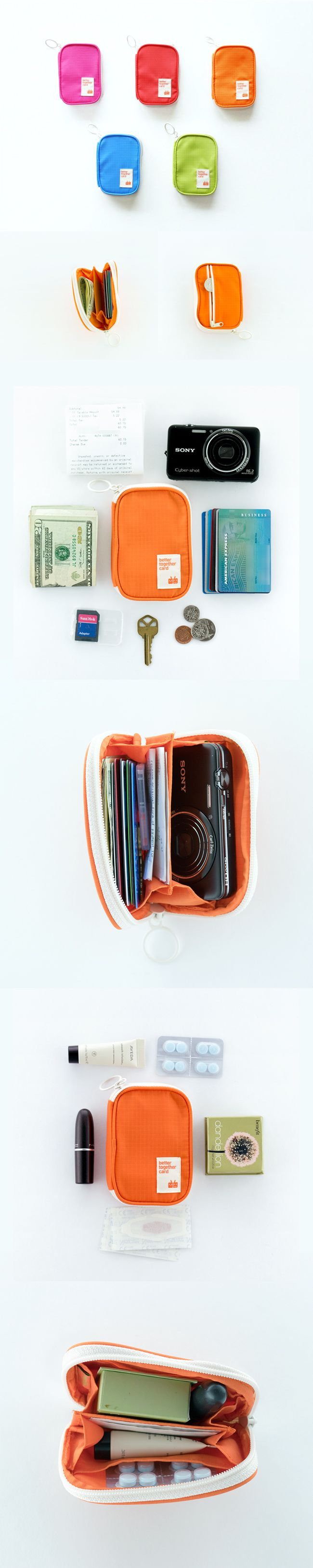 The Better Together Card Pouch is the essential pouch for any trip- keep everything safe and organized.