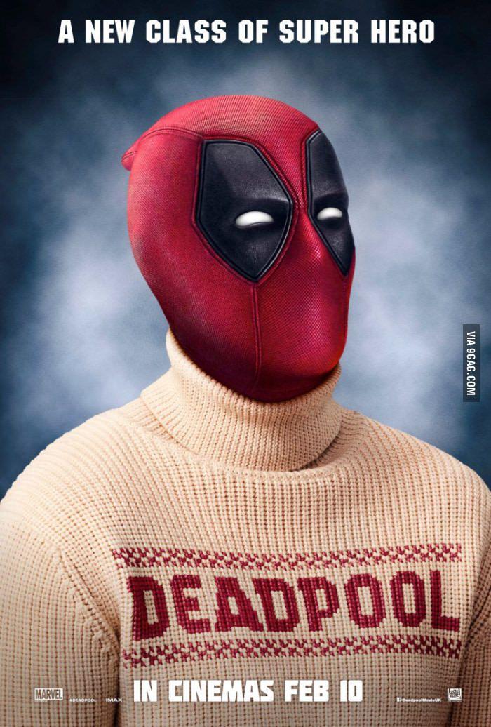 New Deadpool Sweater Poster - 9GAG