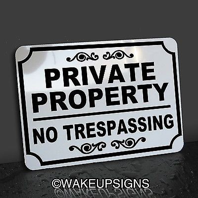 PRIVATE-PROPERTY-NO-TRESPASSING-ROAD-DRIVE-RESIDENTS-ONLY-SIGN-ALUMINUM-10-BY-14