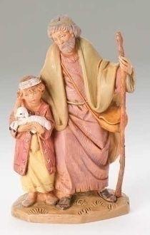 Papa and Misham by Fontanini - 5 Scale