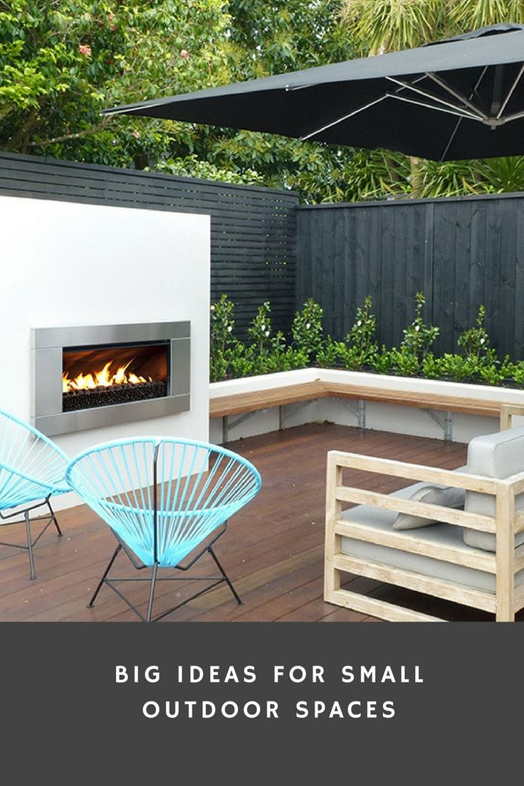 big ideas for small gardens and backyards in outdoor spaces