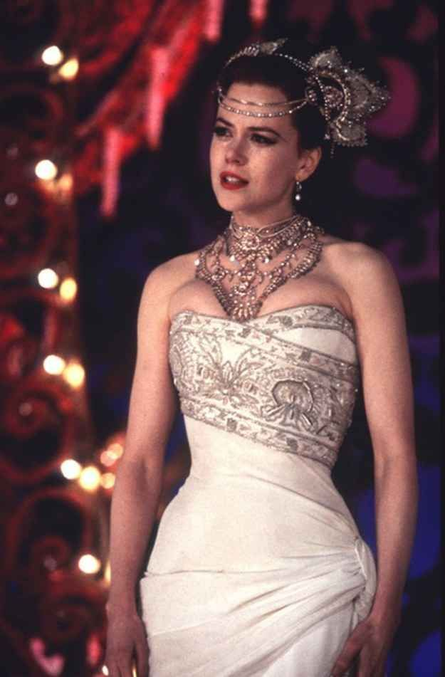 Moulin Rouge! (2001). | 48 Of The Most Memorable Wedding Dresses From The Movies