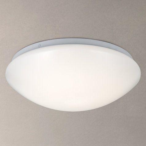 Buy John Lewis Saint LED Flush Bathroom Light, Opal Online at johnlewis.com