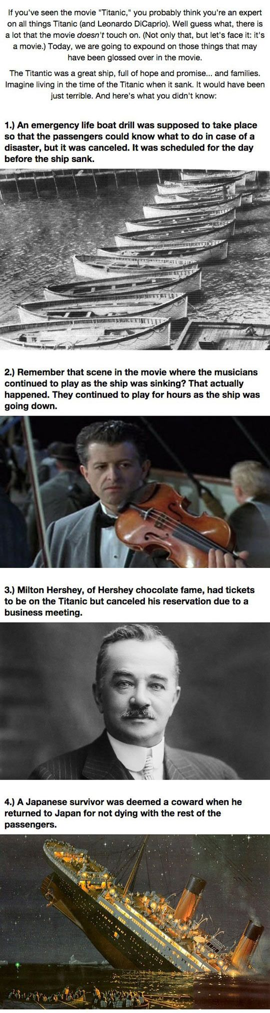 Titanic's Darkest Secrets: I don't have time but this is definitely a pin now read later