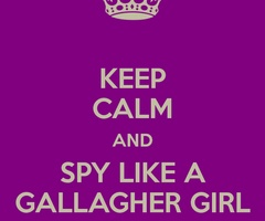 Are gallagher girls really calm?