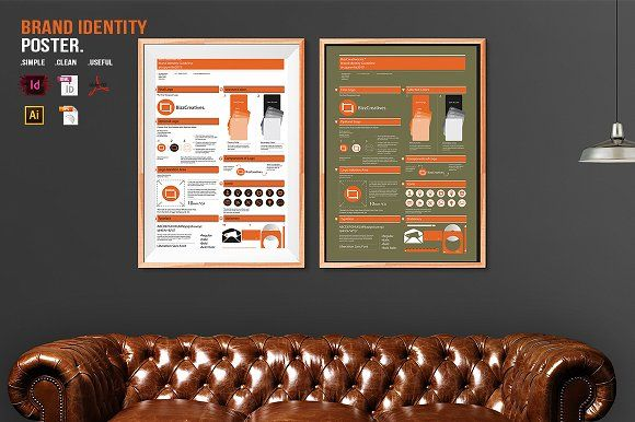 Brand Identity Poster by BizzCreatives on @creativemarket
