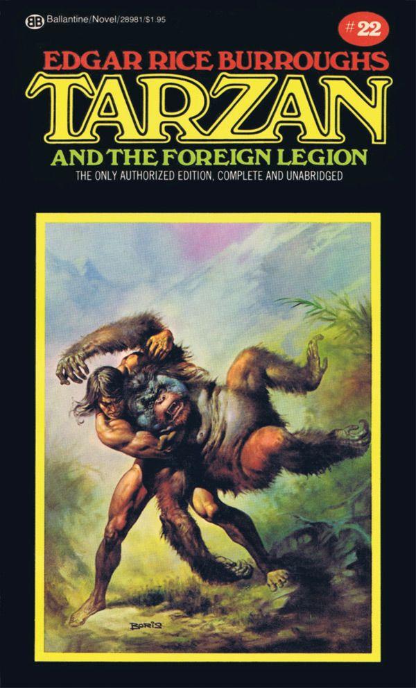Tarzan Covers By Neal Adams And Boris Vallejo Tarzan Edgar Rice Burroughs Tarzan Book