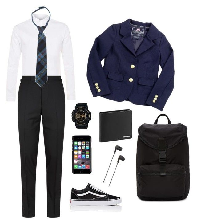 """Untitled #14"" by nanaristha on Polyvore featuring Topman, Tom Ford, French Toast, Vans, G-Shock, Givenchy, Porsche Design, County Of Milan, B&O Play and men's fashion"
