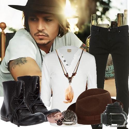 Johnny Depp | Men's Outfit | ASOS Fashion Finder