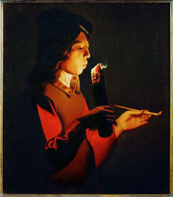 17th century art light vs dark