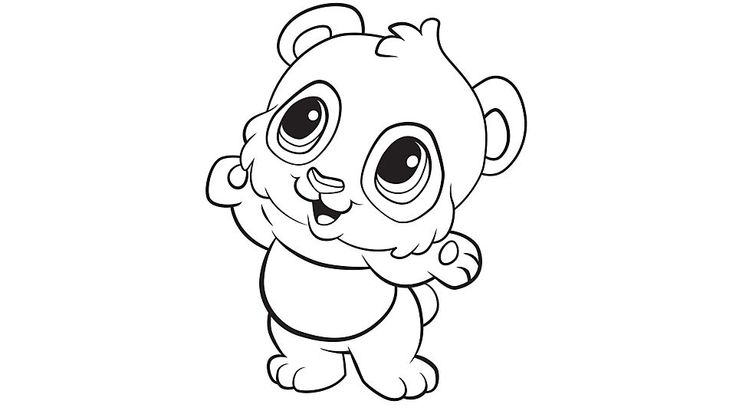 Learning Friends Panda coloring printable from LeapFrog. The Learning Friends prepare kids for school in a playful way! When children color, they strengthen the small muscles in their hands that help them learn to write. Encourage children to color by providing lots of access to coloring pages and crayons.