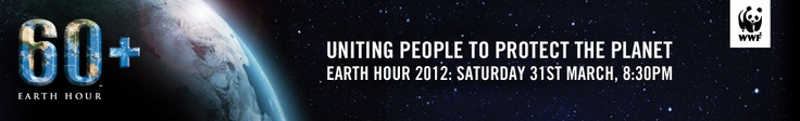Join the world for Earth Hour 2012 by switching off your lights at 8.30pm on Saturday 31 March and sharing the positive action you will take for the planet beyond the hour.