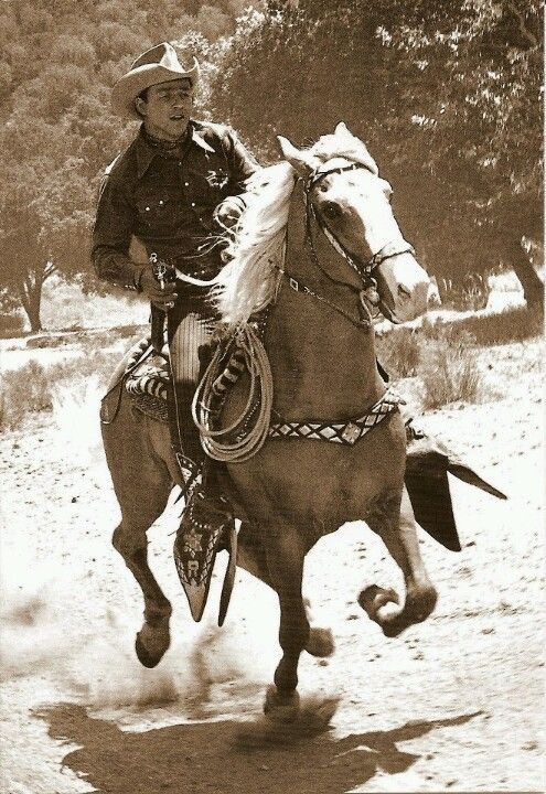Roy Rodgers and Trigger. Thankfully, long before the age of cell phone cameras, I performed the Roy Rogers' song 'A Four Legged Friend' in the school's talent contest. Happy trails!