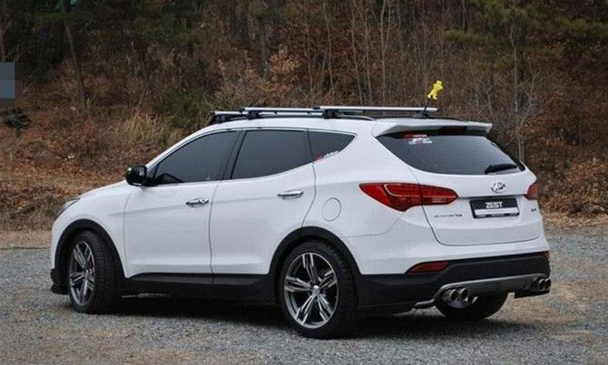Santafe S 2014 Hyundai Santa Fe Gls With 255 45r19 Goodyear Eagle