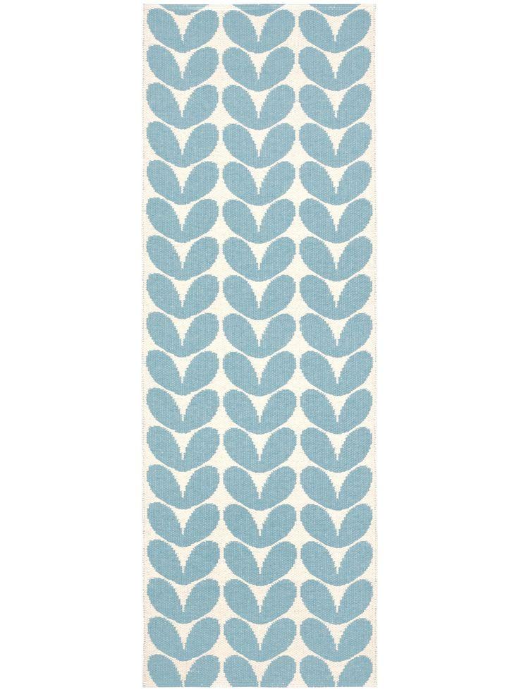 Brita Sweden Plastique Tapis d'extérieur de couloir Karin pas cher Bleu 70x100 cm: Amazon.fr: Cuisine & Maison
