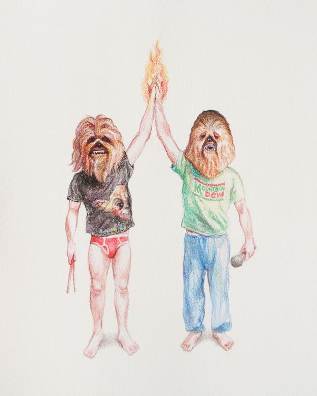 """""""Step Brothers On Fire"""" by Julie Heglund"""