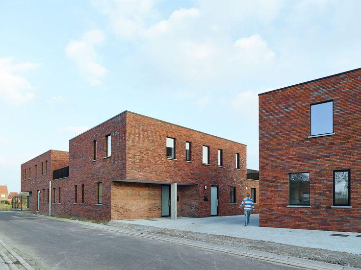 ampe.trybou architecten, Dennis De Smet · Low Energy Social Housing · Divisare
