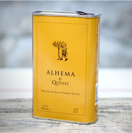 Aceite de oliva virgen extra // Extra virgin olive oil: Alhema de Queiles