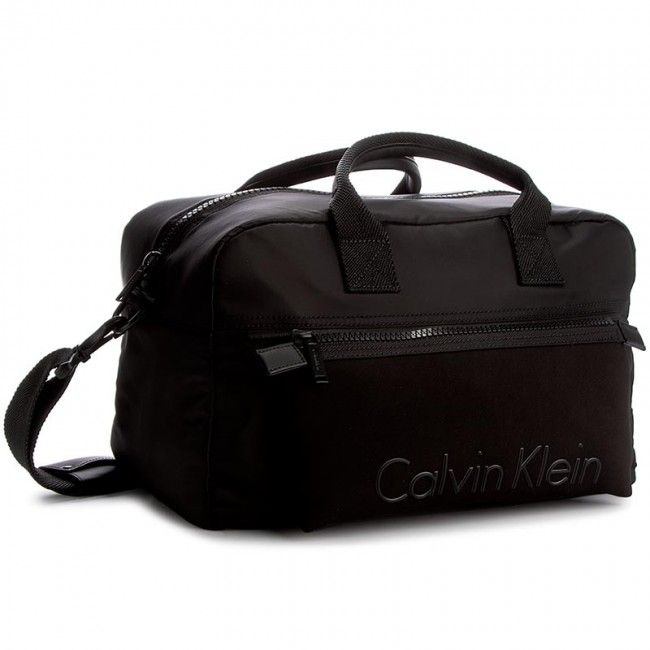 Torba CALVIN KLEIN BLACK LABEL - Alec Medium Duffle K50K503163  001