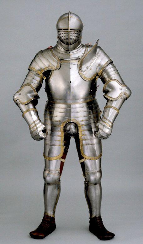 Armadura completa de torneo que perteneció a Enrique VIII de Inglaterra - C 1540