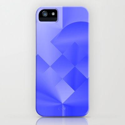 Danish Heart Blues iPhone & iPod Case by Gréta Thórsdóttir - $35.00  #love #heart #girly #Christmas #blue #kids #ombre #pattern #iphone