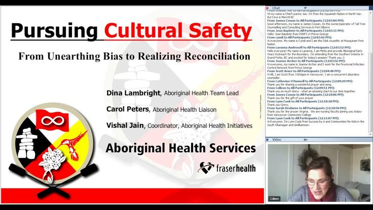 Webinar 5: Pursuing Cultural Safety - From Unearthing Bias to Realizing Reconciliation With Carol Peters and Dina Lambright The politics of acknowledgement c...