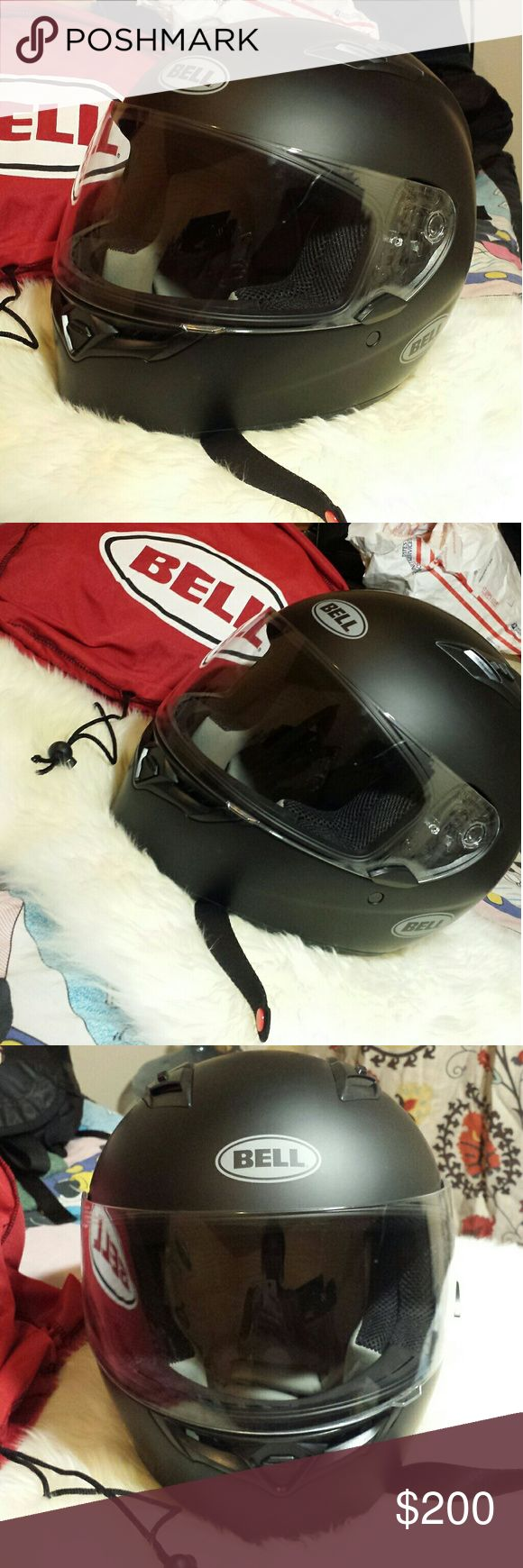 "NWOB Bell Motorcycle Helmet ~ Brand New. ~ Comes With ""Bell"" Bag. ~ Men's Size Small. ~ Price Is Firm. Bell Other"