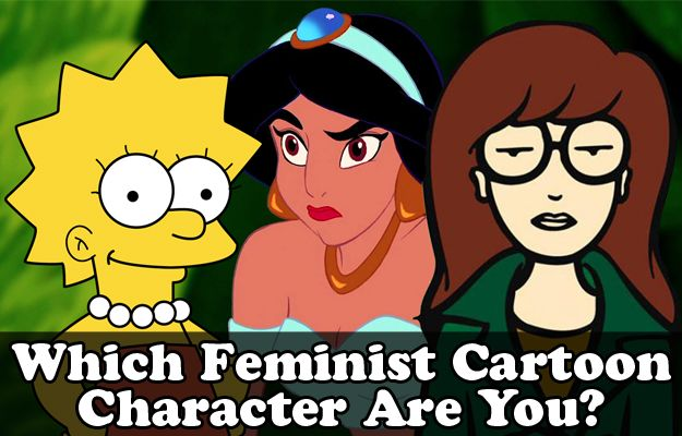 Which Feminist Cartoon Character Matches Your Personality? Female Cartoon Characters, Strong Female Characters, Mindy Kaling, Oprah, Character Test, Quizzes, Girl Power, Feminism, Kiss