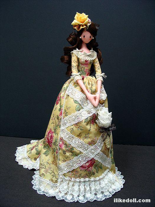 Тряпиенсы-текстильные куклы