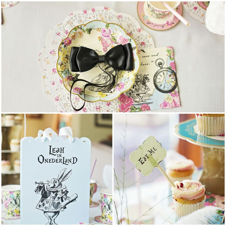 Alice Party Decor #JuicyBows #LandSharkEmpire
