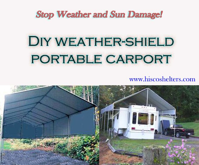 Diy Portable Rv Carports : Best images about diy build your own rv or boat