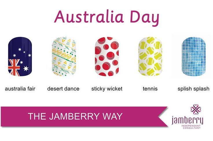 Get in early to avoid disappointment....show everyone how proud we are of this awesome country. https://leahbell.jamberry.com/au/en/shop/products/australia-fair#.Vn_C5Pl95dg