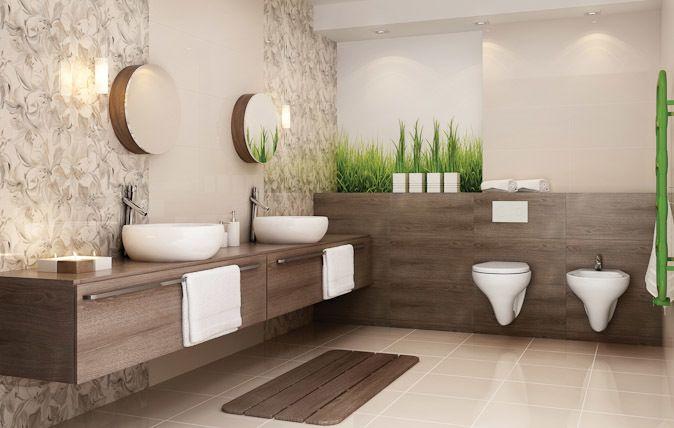 Standardowy format 30x60 sprawdzi się w mniejszych, jak i większych łazienkach, zaś uzupełnienie kolekcji płytkami podłogowymi odzwierciedlającymi charakter drewna dopełni obrazu łazienki przyjaznej, kuszącej obietnicami chwil spędzonych w absolutnym spokoju.