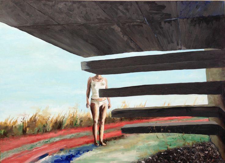 Nyt maleri. Olie på lærred 80x105 cm. #galleryshop #artwork #contemporaryart #contemporary #art #kunstværk #workoftheday #kunst #maleri