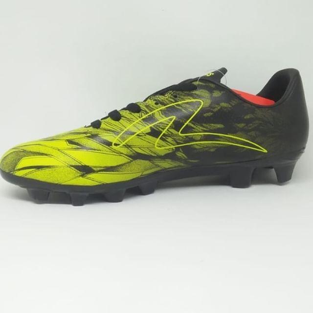 Sepatu Bola Specs Original Victory 19 Fg Black Zest Green Size