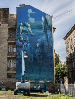 Poseidon  #Spok #KORSé #Budapest #streetart #mural