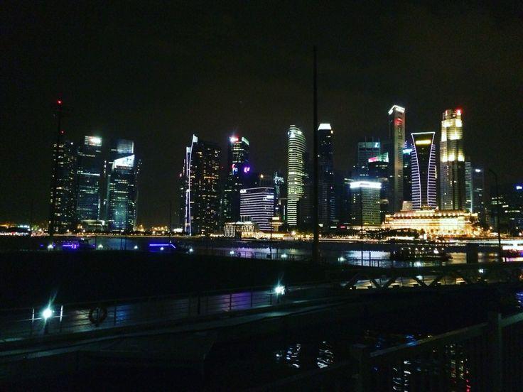 Marina Bay Sands at night 2