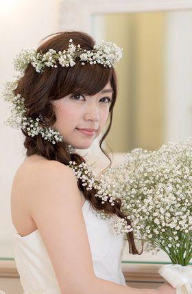 髪型 花冠 髪型 : jp.pinterest.com
