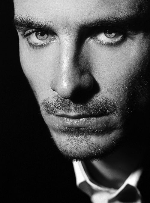 Michael Fassbender--awesome portrait photography.