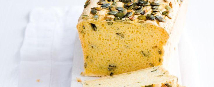 Bezlepkový chléb s dýňovými semínky